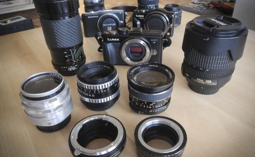 Welche Micro Four Thirds Kamera soll es für den Anfang sein?